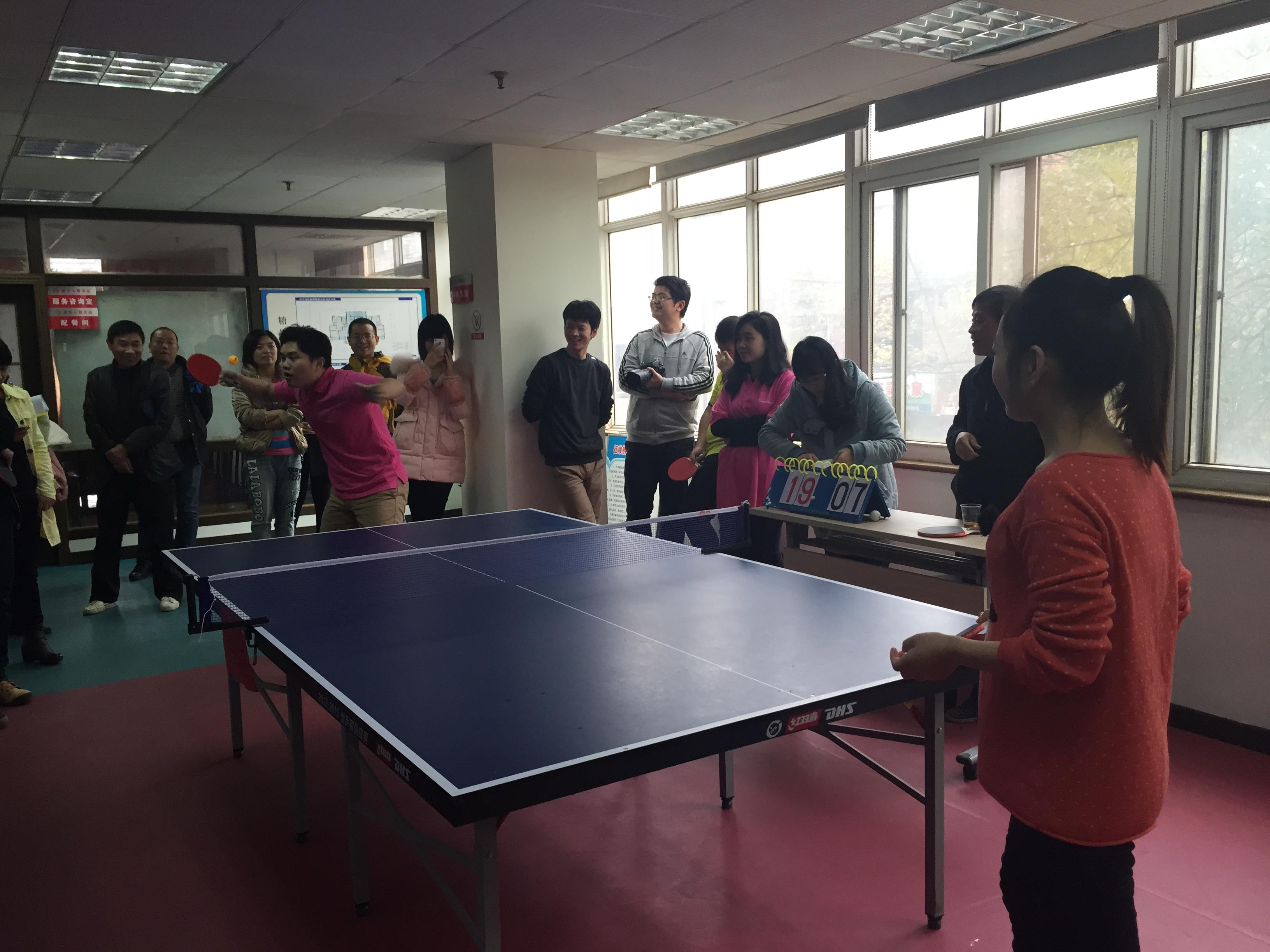 bwin国际平台网址医药代表队荣获四唯街乒乓球比赛团体二等奖