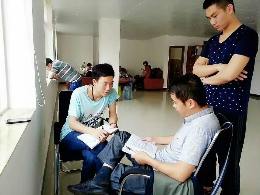 广东化州黄埔训练营正式开营
